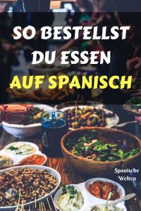 Auf Spanisch im Restaurant bestellen