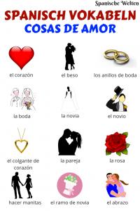 Spanisch Vokabeln Liebe