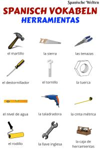 Spanisch Vokabeln Werkzeuge