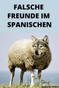 Spanisch falsche Freunde