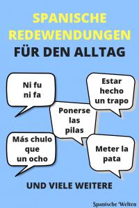 Spanische Redewendungen für den Alltag