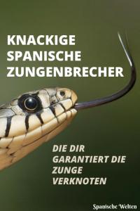 Spanische Zungenbrecher - Pinterest Grafik