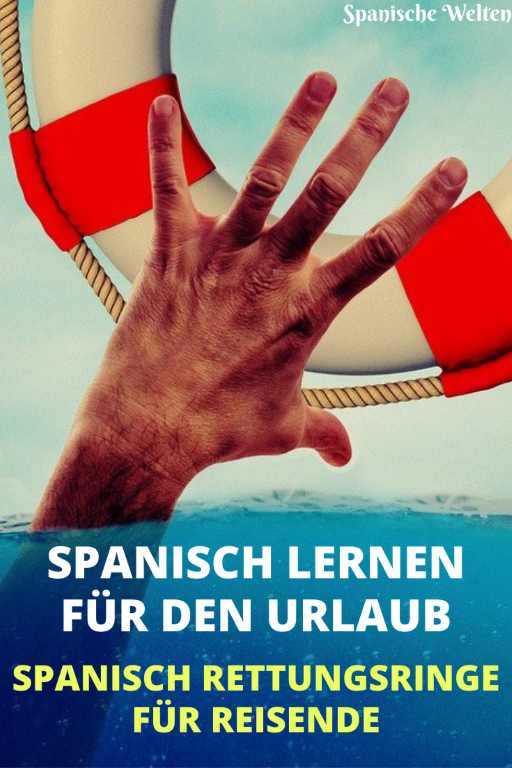 Urlaubsspanisch - Pinterest Grafik
