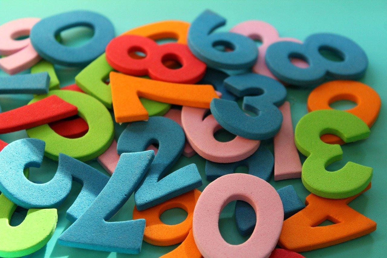 Spanische Zahlen von 1 bis 1000