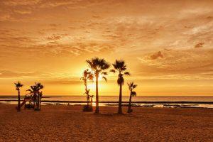 Strand in Chipiona
