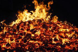 Glut und Feuer