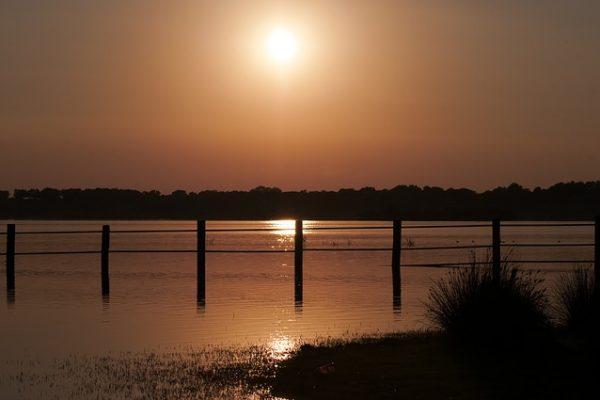 Coto de Doñana Sonnenuntergang